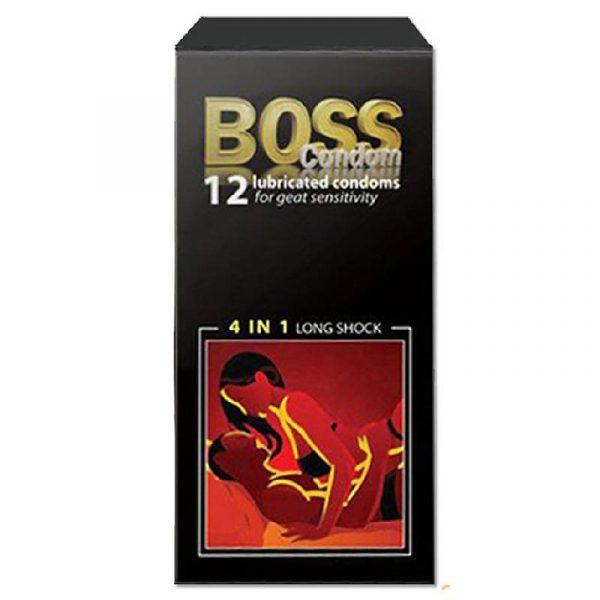 Bao cao su Boss 4in1 long sock