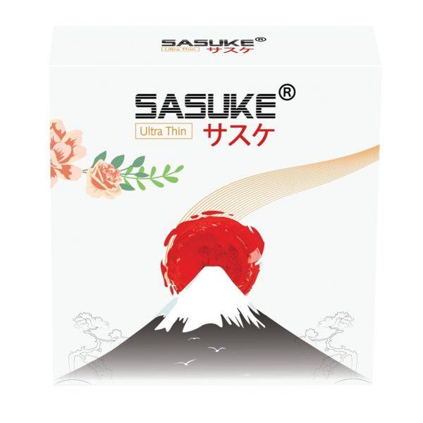 Bao cao su Sasuke Trắng ultra thin