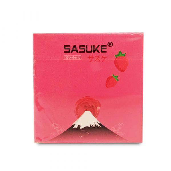 Bao cao su Sasuke hương Dâu siêu mỏng