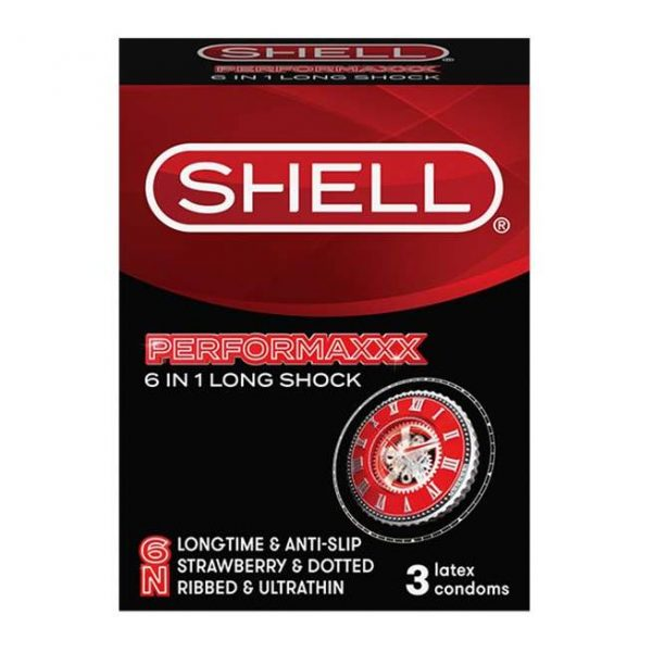 Bao cao su Shell performax 6in1 kéo dài thời gian