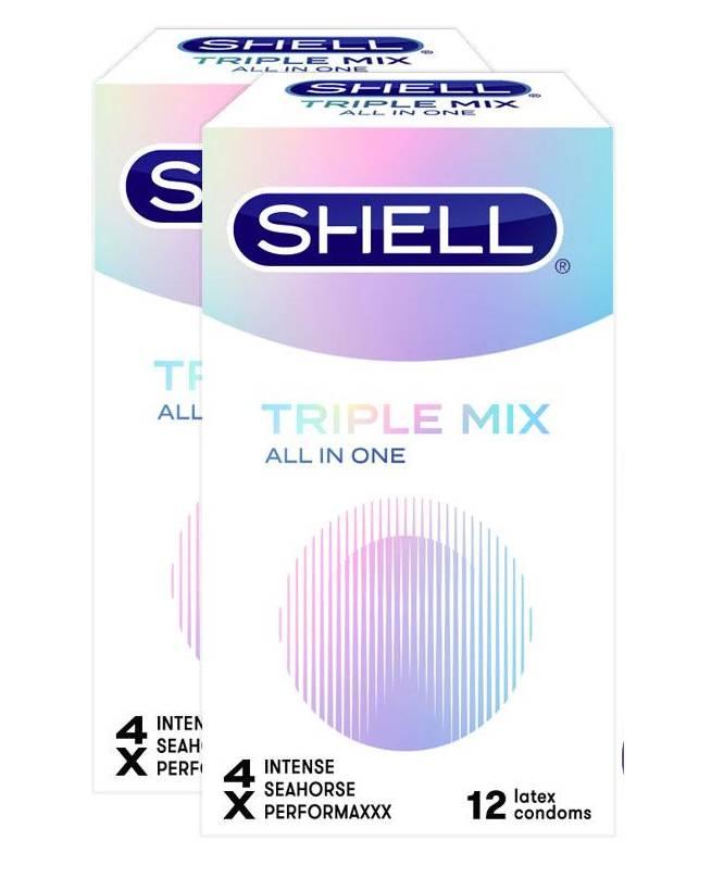 Bao cao su Shell trilpe mix