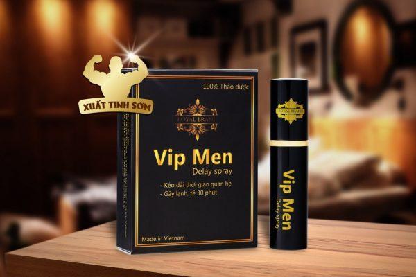 Chai xịt Vip men 100% từ thảo dược -Việt nam