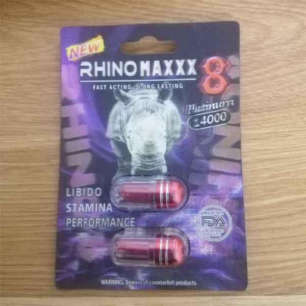 Thảo dược cường dương Rhino maxxx 8 platinum 14000