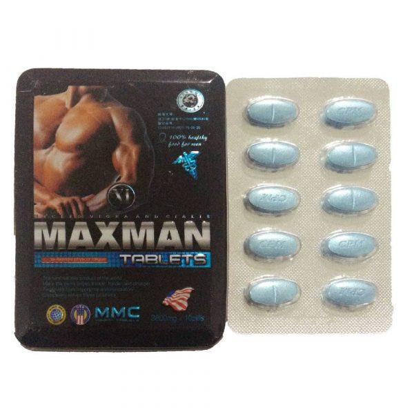 Thuốc Maxman tăng cường sinh lý của mỹ