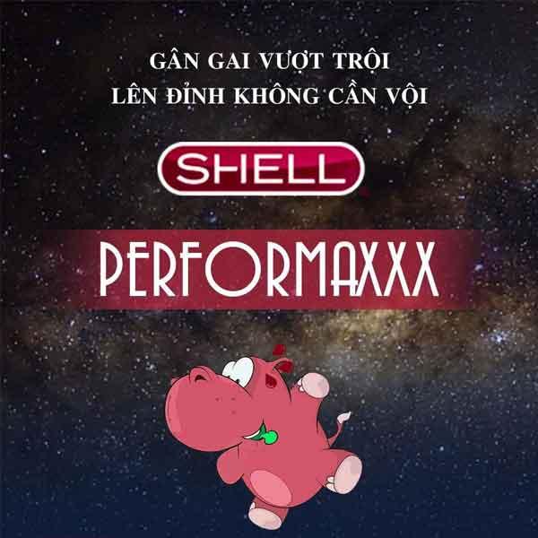 Bao cao su gân gai kéo dài thời gian quan hệ Shell performax