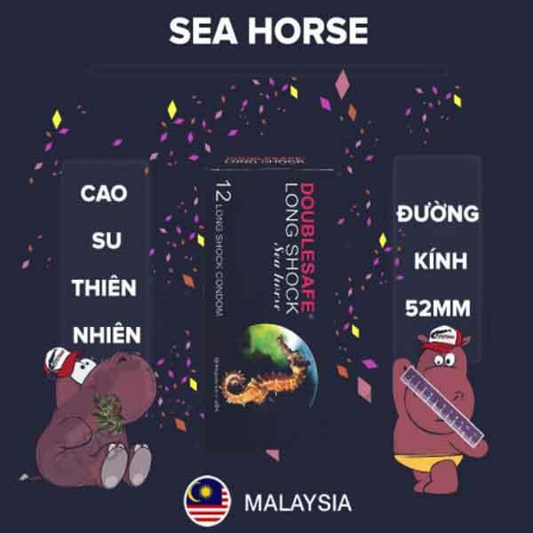 Bao cao su Double seahorse cá ngựa