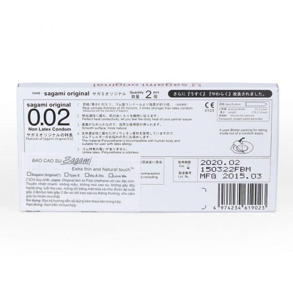 bao cao su sagami 0,02mm
