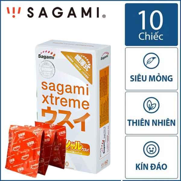 Bao cao su Sagami Xtreme Superthin