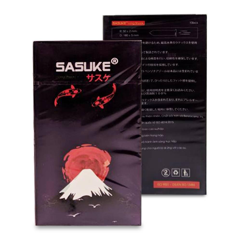 Bao cao su Sasuke Tím Longsock