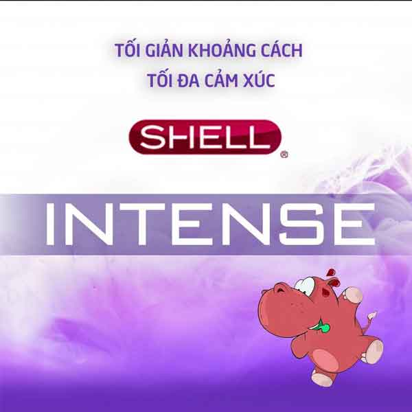 Bao cao su Shell intense