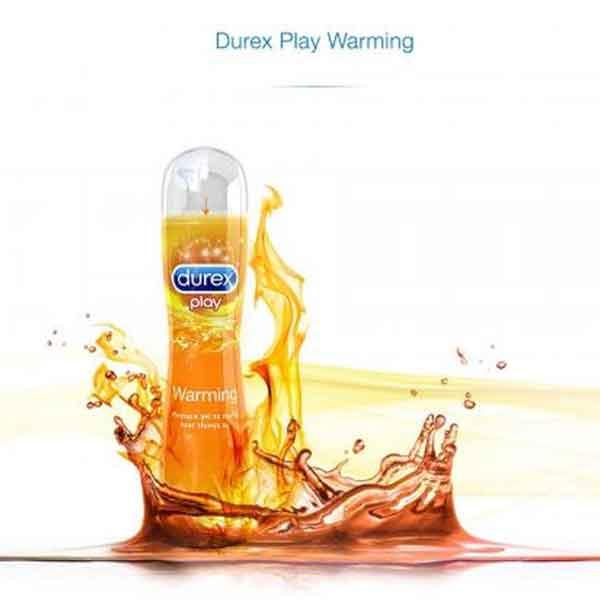 Gel bôi trơn Durex Warnming ấm nóng