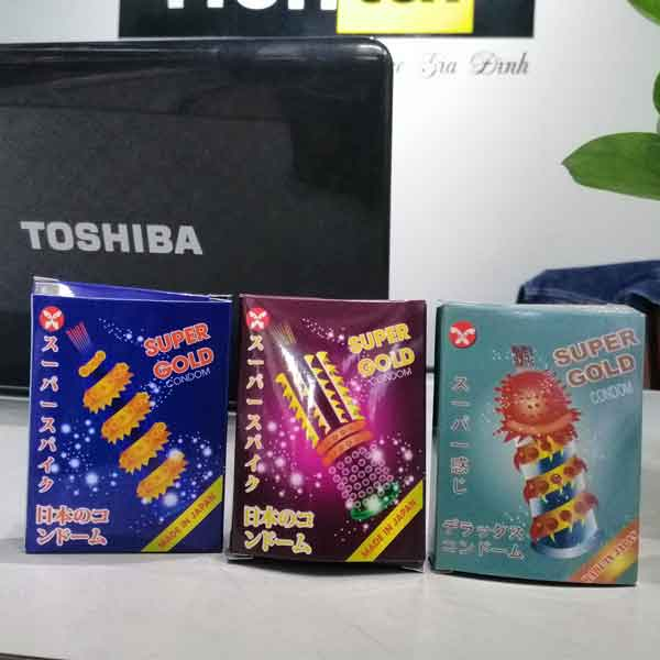 Super Gold condom made in japan