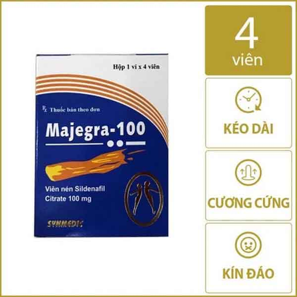 Thuốc Majegra 100 cường dương Ấn độ