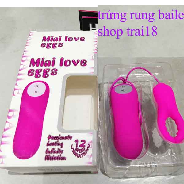 Trứng rung Baile mini love eggg hình càng cua