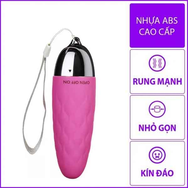 Trứng rung Sexy Baby silicon mềm giá rẻ