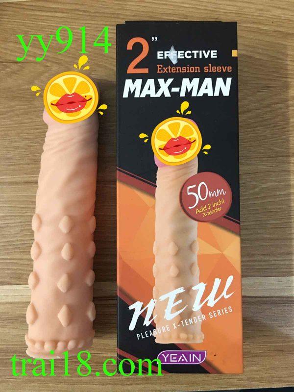 Bao cao su đôn dên maxman YY914 gai to nổi