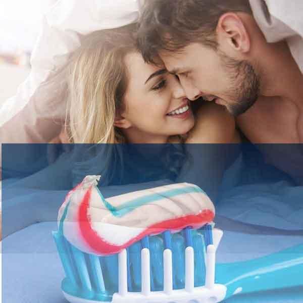 Dùng kem đánh răng giúp nam giới chống xuất tinh sớm