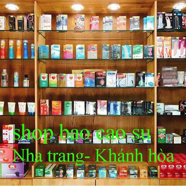 cửa hàng bao cao su Tại Nha Trang khánh hòa