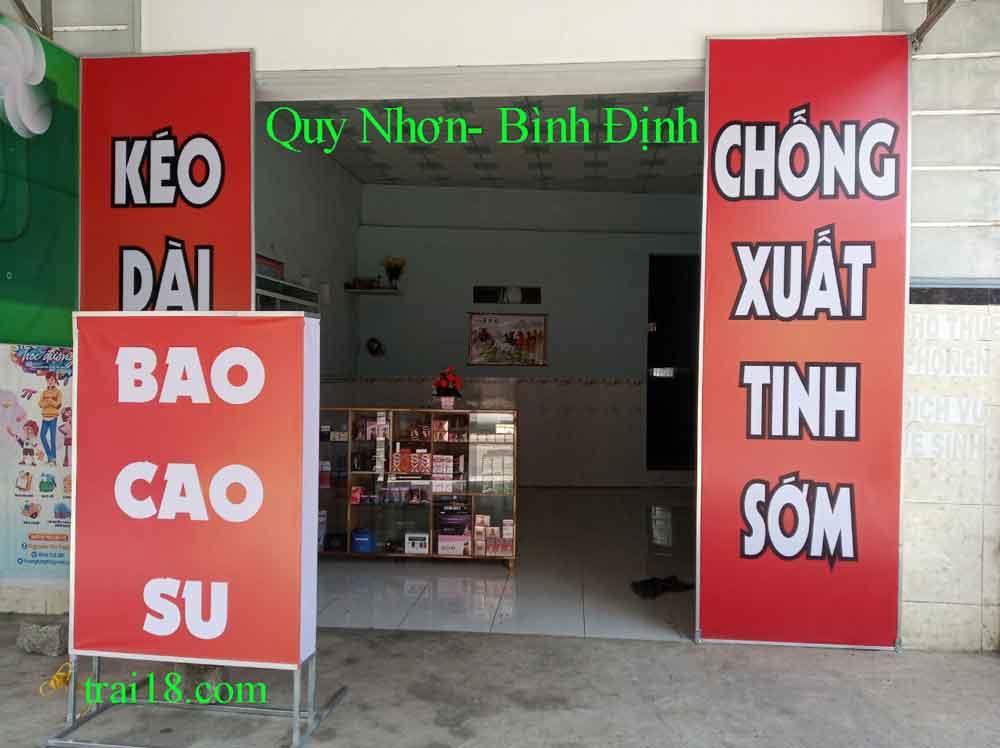 Shop bao cao su Qui nhơn- Bình định