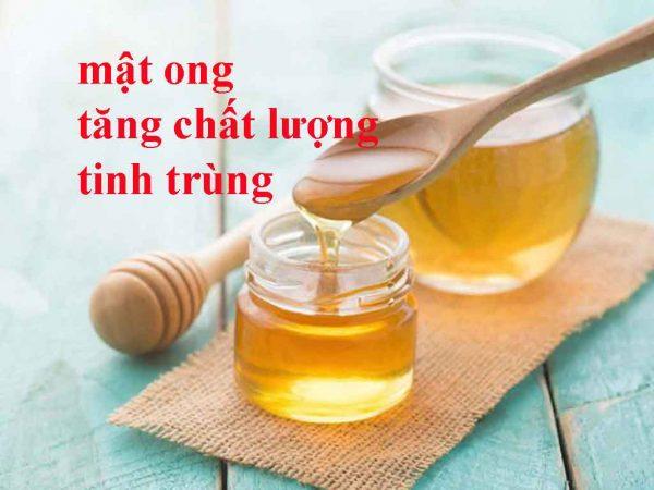 Sử dụng mật ong để tăng chất lượng tinh trùng
