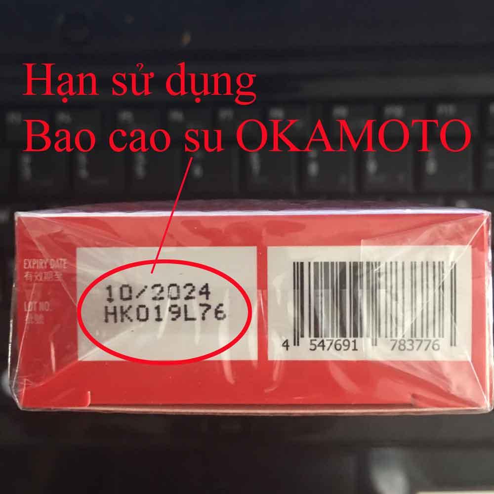Hạn sử dụng Bao cao su OKAMOTO