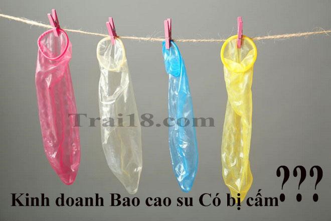 Mặt hàng Bao cao su chính hãng được nhà nước cho phép kinh doanh buôn bán